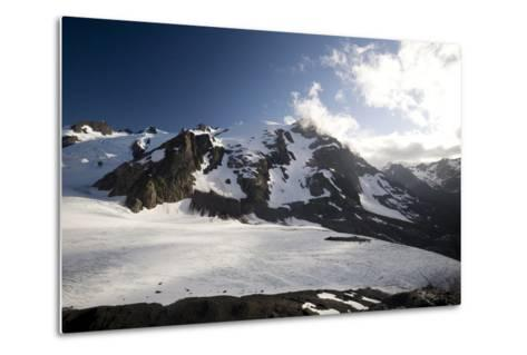 Mount Olympus and Blue Glacier-Colin Brynn-Metal Print