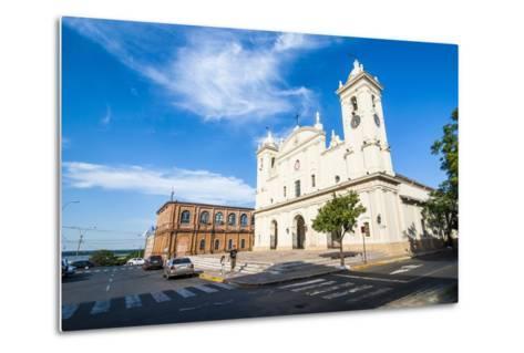 Cathedral of Asuncion, Asuncion, Paraguay, South America-Michael Runkel-Metal Print