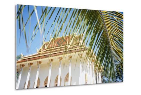 New Temple, Phum Prasat-Design Pics Inc-Metal Print