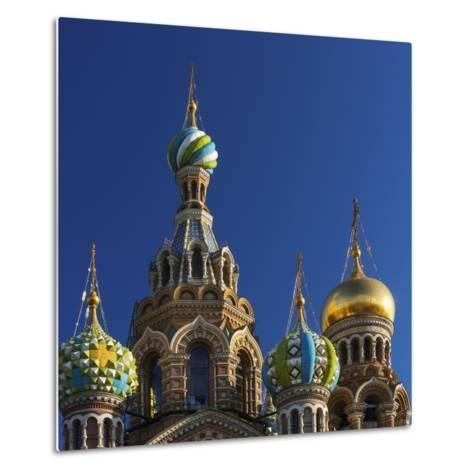 The Church of the Spilled Blood.-Jon Hicks-Metal Print
