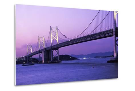 Seto Ohashi Bridge at Dusk-Design Pics Inc-Metal Print