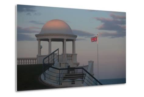 King George V Colonnade on the Seafront at Bexhill, East Sussex, England-Roff Smith-Metal Print