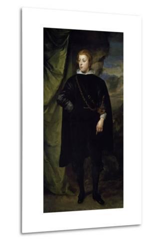 Portrait of Charles I Louis--Metal Print