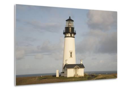 Exterior of Lighthouse-Design Pics Inc-Metal Print