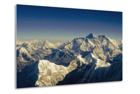 View from Everest-Design Pics Inc-Metal Print