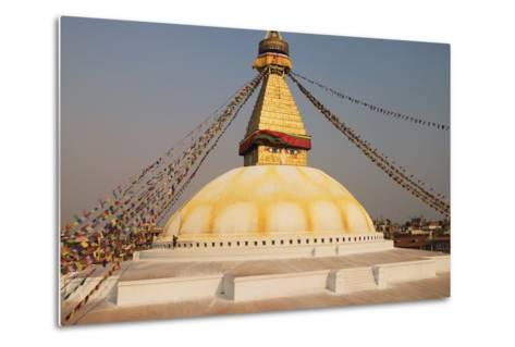 The Stupa at Bodhnath, Kathmandu, Nepal-Design Pics Inc-Metal Print