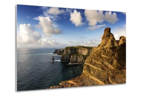 Cliffs of Moher, County Clare, Ireland-Chris Hill-Metal Print