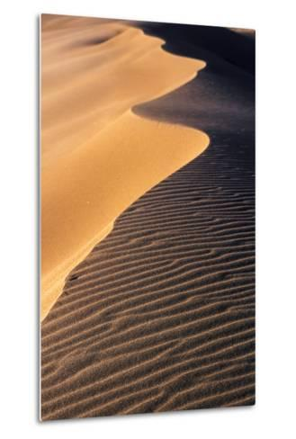 A Sand Dune at Sunset, Great Sand Dunes National Park and Preserve, Colorado-Keith Ladzinski-Metal Print