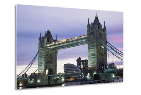 Tower Bridge, London,England-Design Pics Inc-Metal Print
