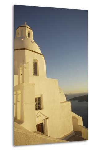 Whitewashed Building by Coastline-Design Pics Inc-Metal Print
