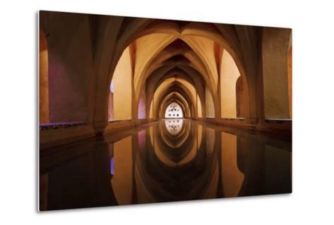 Bath of Dona Maria De Padilla at Alcazar-Design Pics Inc-Metal Print