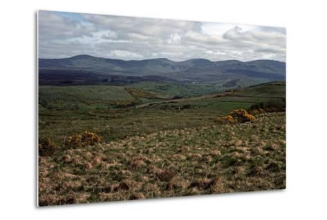 BLUE STACK Mountains, Donegal, IRELAND-Alain Le Garsmeur-Metal Print