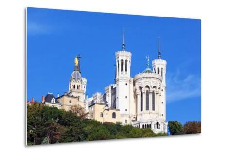 Basilica of Notre-Dame De Fourviere in Lyon-prochasson-Metal Print