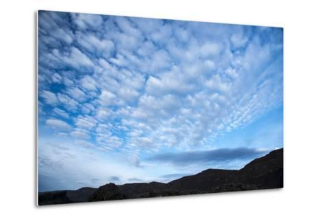 Stratocumulus Clouds over Scablands-Michael Melford-Metal Print