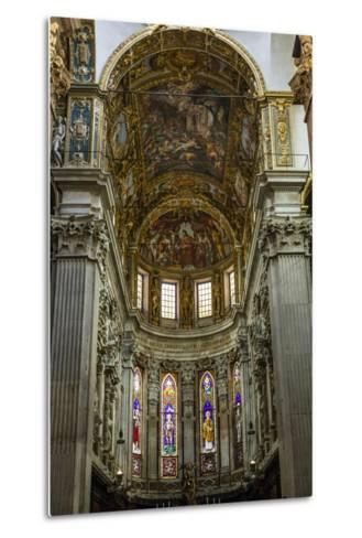San Lorenzo Cathedral, Genoa, Liguria, Italy, Europe-Yadid Levy-Metal Print