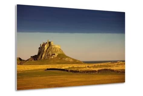 Lindisfarne, Northumberland, England; a Castle on the Tidal Island also known as Holy Island-Design Pics Inc-Metal Print