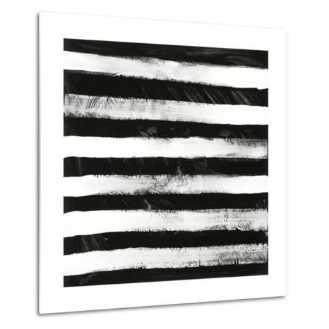 Black and White A-Franka Palek-Metal Print