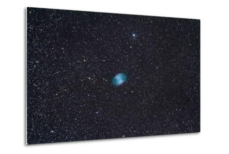 The Dumbbell Nebula, a Planetary Nebula in the Constellation Vulpecula--Metal Print