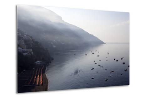 The Port of Positano-Oliviero Olivieri-Metal Print