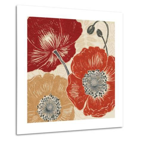 A Poppys Touch II-Daphne Brissonnet-Metal Print