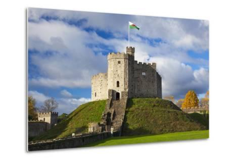 Norman Keep, Cardiff Castle, Cardiff, Wales, United Kingdom, Europe-Billy Stock-Metal Print
