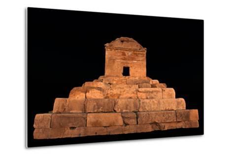 The Tomb of Cyrus the Great, in Pasargadae, at Night-Babak Tafreshi-Metal Print
