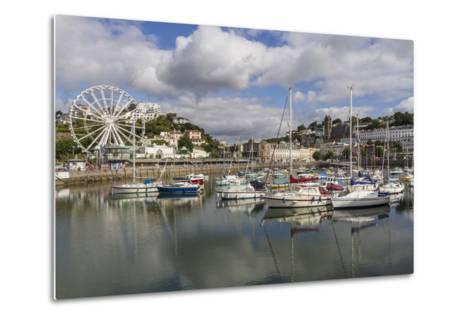 Harbour, Torquay, Devon. England, United Kingdom, Europe-Rolf Richardson-Metal Print