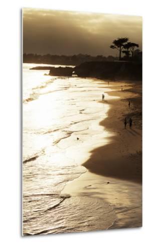 Lighthouse State Beach, Santa Cruz, California, United States of America, North America-Richard Cummins-Metal Print