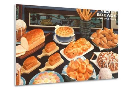 Baked Goods-Found Image Press-Metal Print