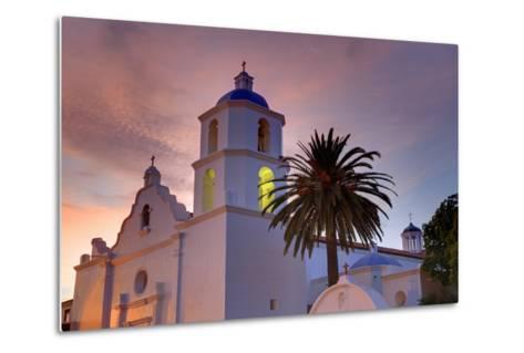 Mission San Luis Rey, Oceanside, California, United States of America, North America-Richard Cummins-Metal Print