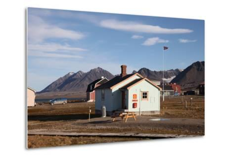 Most Northerly Post Office in the World, Ny Alesund, Svalbard, Norway, Scandinavia, Europe-David Lomax-Metal Print