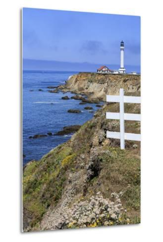 Point Arena Lighthouse, California, United States of America, North America-Richard Cummins-Metal Print