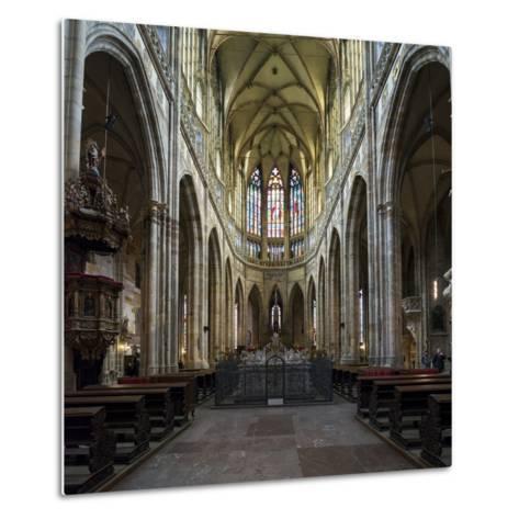 St. Vitus Cathedral, Prague, Czech Republic, Europe-Ben Pipe-Metal Print