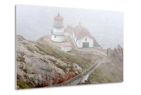 Point Reyes Lighthouse-Richard Cummins-Metal Print