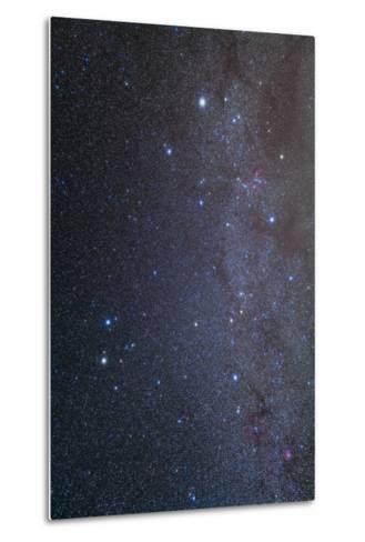 The Constellations of Gemini and Auriga--Metal Print