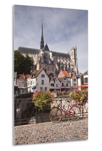Notre Dame D'Amiens Cathedral-Julian Elliott-Metal Print