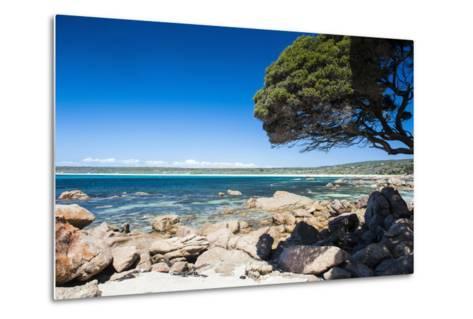 Rocky Cliffs on Shelley Cove Near Eagle Bay, Western Australia, Australia, Pacific-Michael Runkel-Metal Print