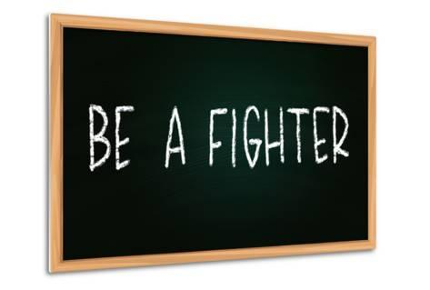 Be a Fighter-airdone-Metal Print