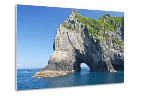 New Zealand, North Island, Bay of islands, Hole in the Rock-Rob Tilley-Metal Print