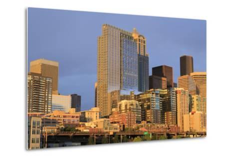 Seattle Skyline, Washington State, United States of America, North America-Richard Cummins-Metal Print