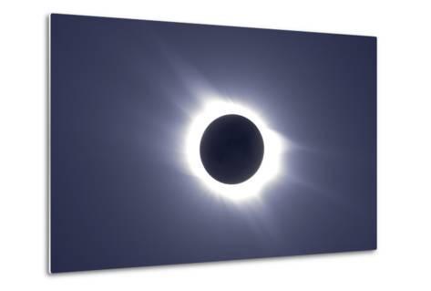 Total Solar Eclipse--Metal Print