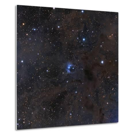 The Bright Star Vdb 16, Dust and Nebulosity in the Constellation Aries--Metal Print