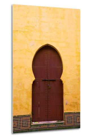 Gate to Medina, Meknes, Morocco, North Africa, Africa-Neil Farrin-Metal Print