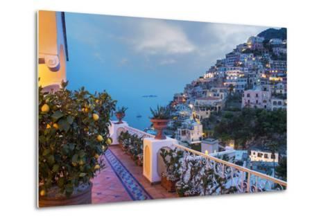 Positano, Amalfi Peninsula, UNESCO World Heritage Site, Campania, Italy, Mediterranean, Europe-Angelo Cavalli-Metal Print