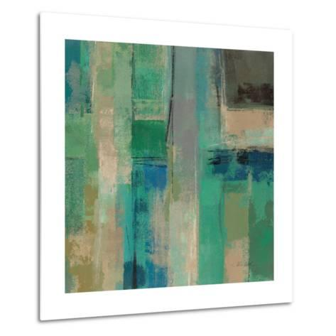 Emerald Fields Square II-Silvia Vassileva-Metal Print