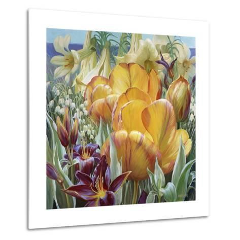 Palisade Garden-Elizabeth Horning-Metal Print