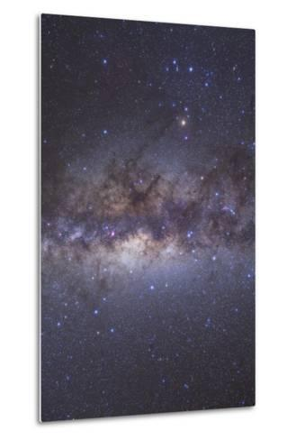 The Center of the Milky Way Through Sagittarius and Scorpius--Metal Print