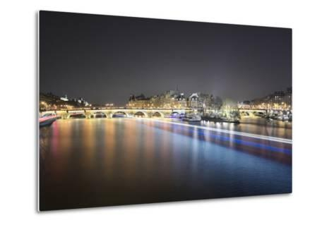 Paris from Pont des Arts-Philippe Manguin-Metal Print