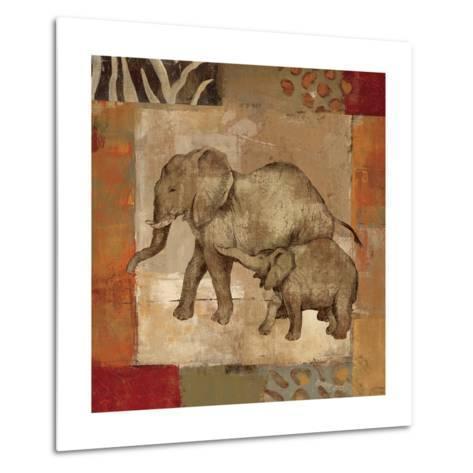 Animals on Safari III-Silvia Vassileva-Metal Print