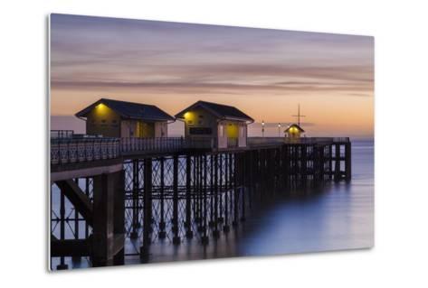 Penarth Pier, Near Cardiff, Vale of Glamorgan, Wales, United Kingdom, Europe-Billy Stock-Metal Print